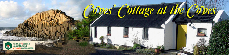 Coves' Cottage on the Causeway Coast